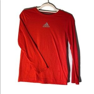 ADIDAS ULTIMATE TEE Boys Red Size Med 10/12